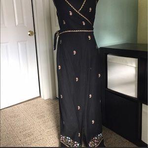 Beautiful long linen dress by Deane & White